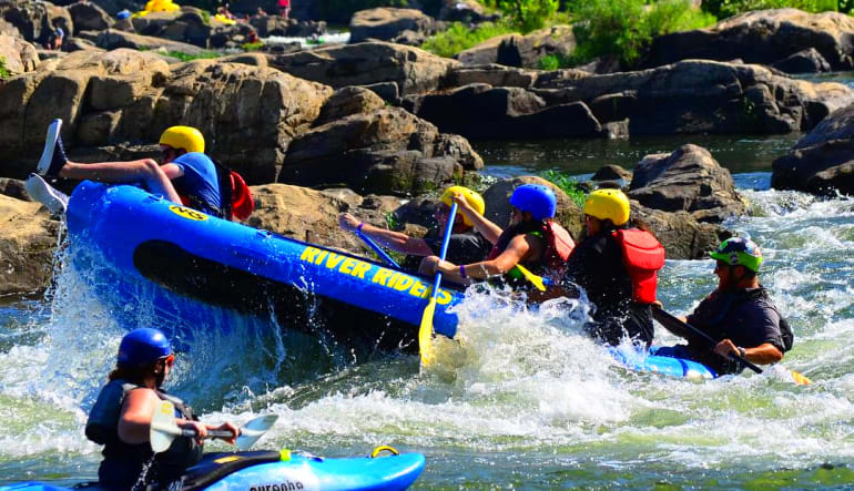 Auto Deals San Antonio >> 2 Person Deal: Whitewater Rafting Harpers Ferry, Class I ...