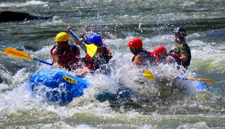 Whitewater Rafting Harpers Ferry Splash