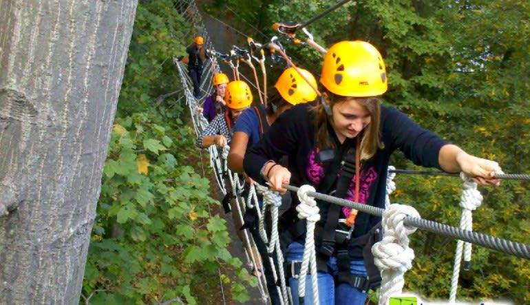 Person Deal: Ziplining Harpers Ferry, 8 Zip Adventure Yellow