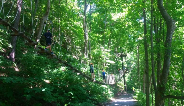Ziplining Harpers Ferry 8 Zip Adventure