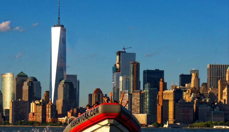 Hi-Speed RIB Tour New York City Backdrop