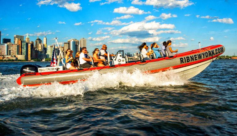 Hi-Speed RIB Tour New York City Group