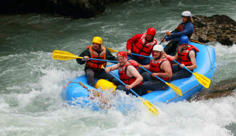 Whitewater Rafting Seattle Nooksack River Group