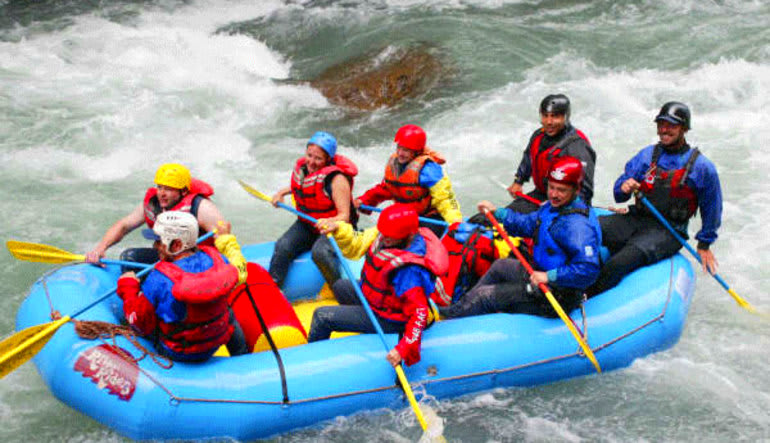 Whitewater Rafting Seattle Nooksack River