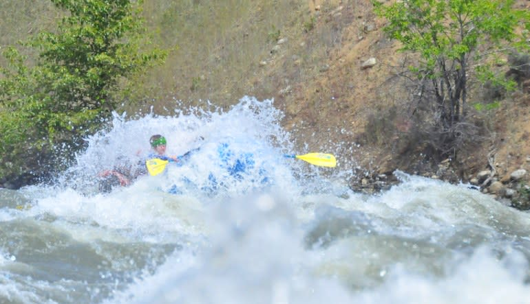 Whitewater Rafting Seattle Skykomish River Rush