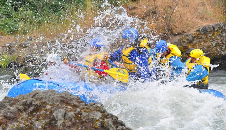 Whitewater Rafting Seattle Tieton River Splash