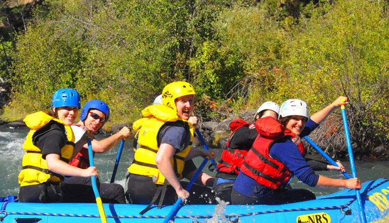 Whitewater Rafting Seattle Tieton River Paddle