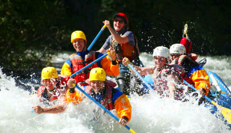 Whitewater Rafting Seattle Tieton River Laughter