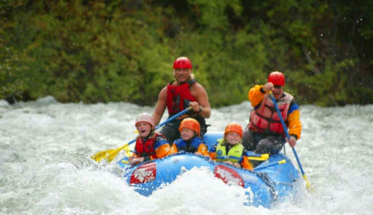 Whitewater Rafting Seattle Tieton River Little Ones