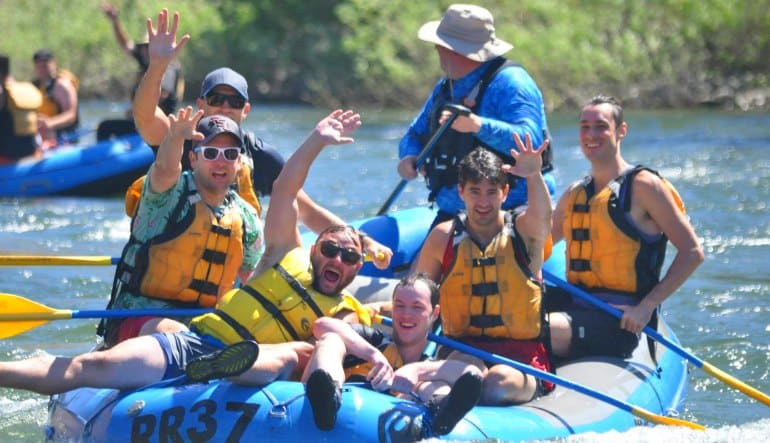 Whitewater Rafting Seattle Skykomish River