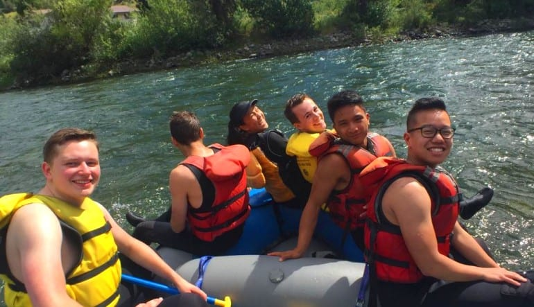 Whitewater Rafting Seattle Skykomish River Group