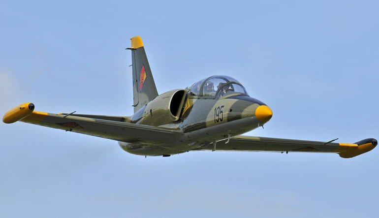 Fly an L-39 Jet Fighter 60 Minutes