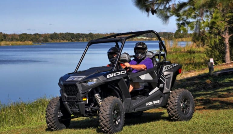 Side-By-Side RZR Drive Buggy