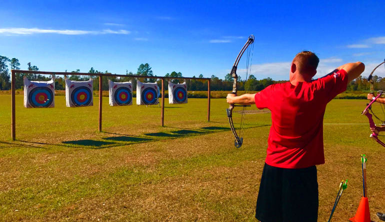 Archery Class Orlando - 1 Hour Red