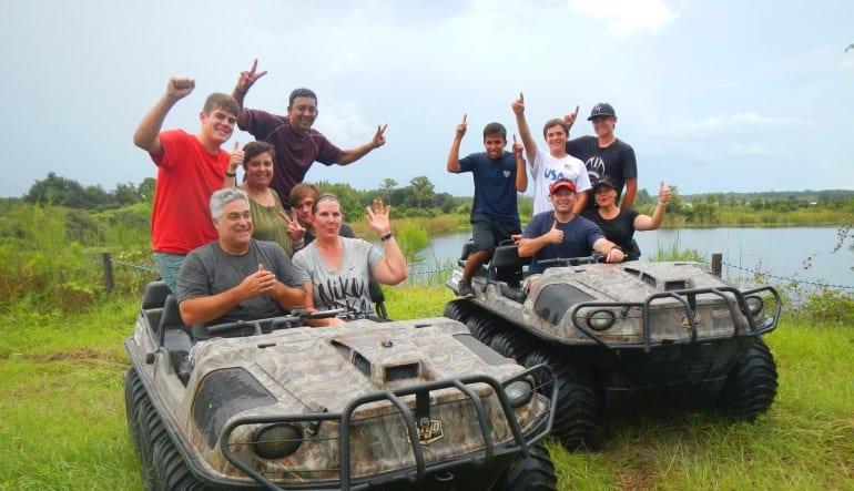 Argo ATV Drive Orlando Family
