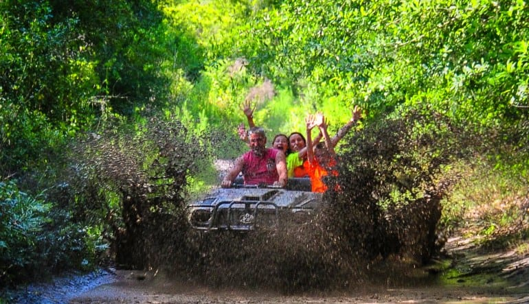 Argo ATV Drive Orlando Muddy