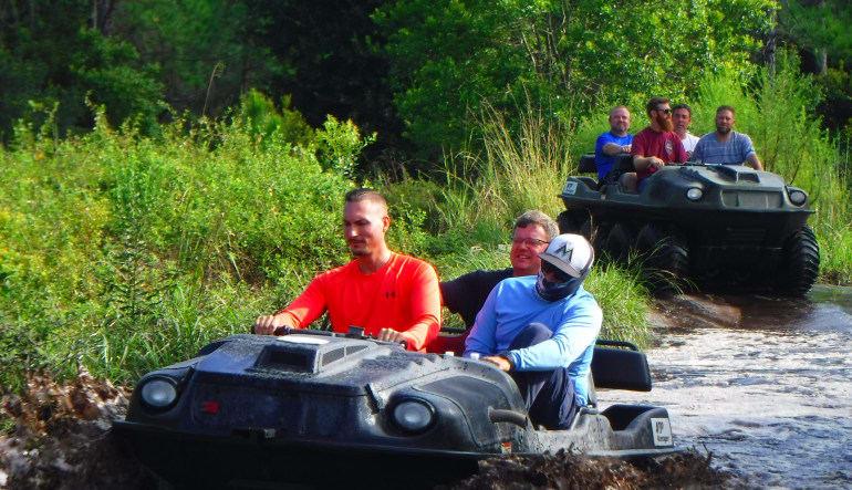 Argo ATV Drive Orlando Get Wet