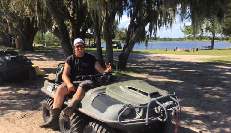 Argo ATV Drive Orlando Man