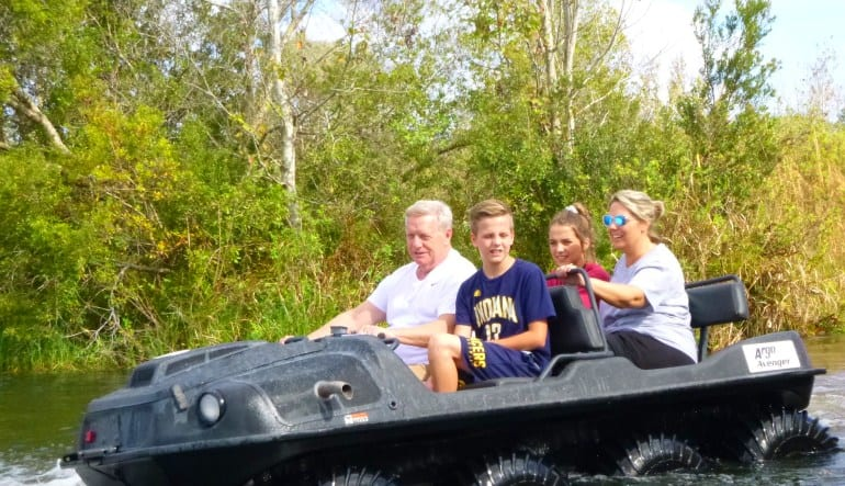 Argo ATV Drive Orlando Families