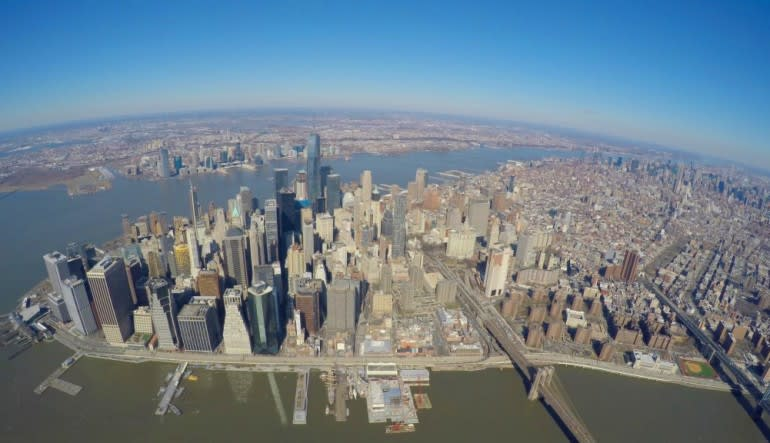 New York City Scenic Plane Tour City