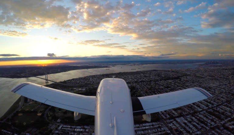 New York City Scenic Plane Tour Views