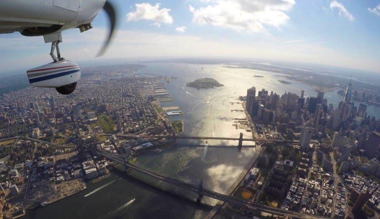 New York City Scenic Plane Tour Landscape Views