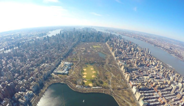 New York City Scenic Plane Tour Central Park