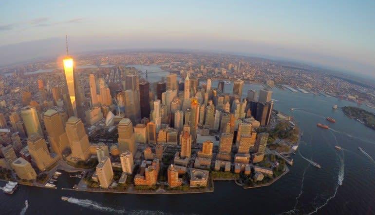 New York City Scenic Plane Tour Sunset