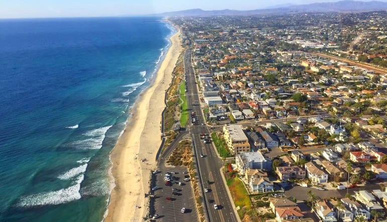 Helicopter Ride Oceanside and Carlsbad Landscape