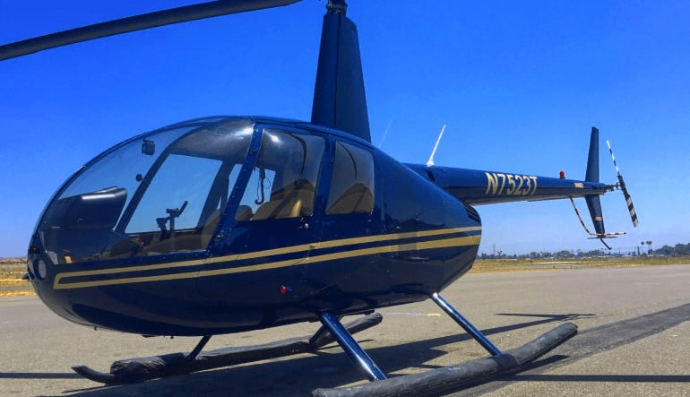 Helicopter Ride Oceanside and Carlsbad Aircraft
