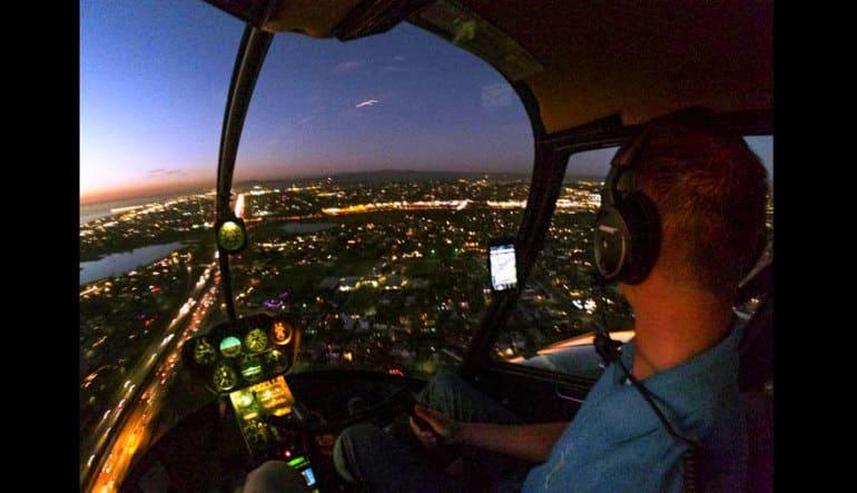 Helicopter Ride Oceanside 30 Minute Night Flight