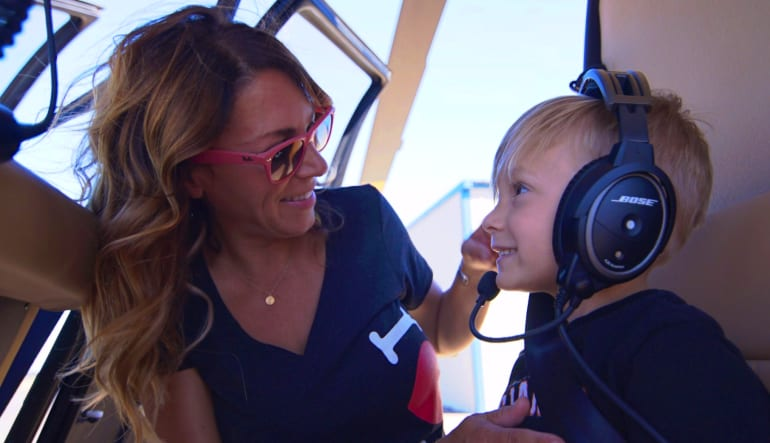 Helicopter Ride Oceanside - 8 Minute Flight Child