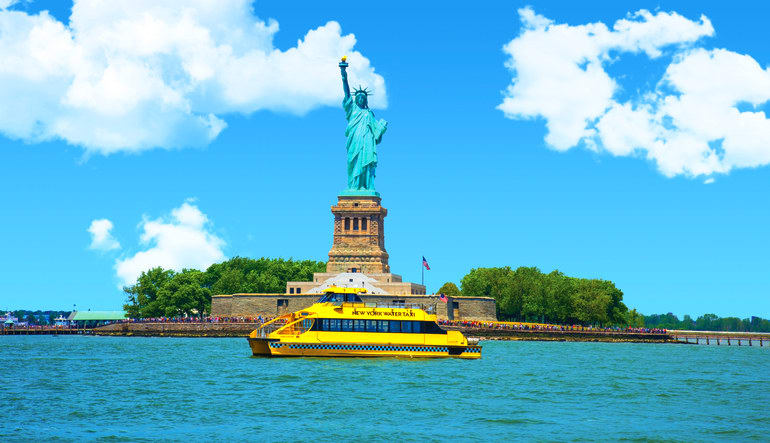 New York Water Taxi - All-Day Access Pass Statue