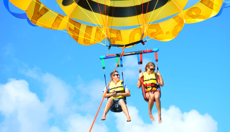 Ultimate Miami Watersports Package Parasail