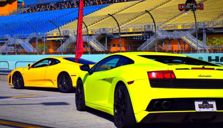 Lamborghini Gallardo Drive Back