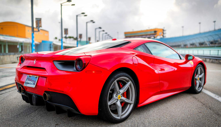 Ferrari GT Drive Angle View