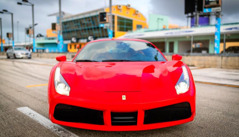 Ferrari GT Drive Front View