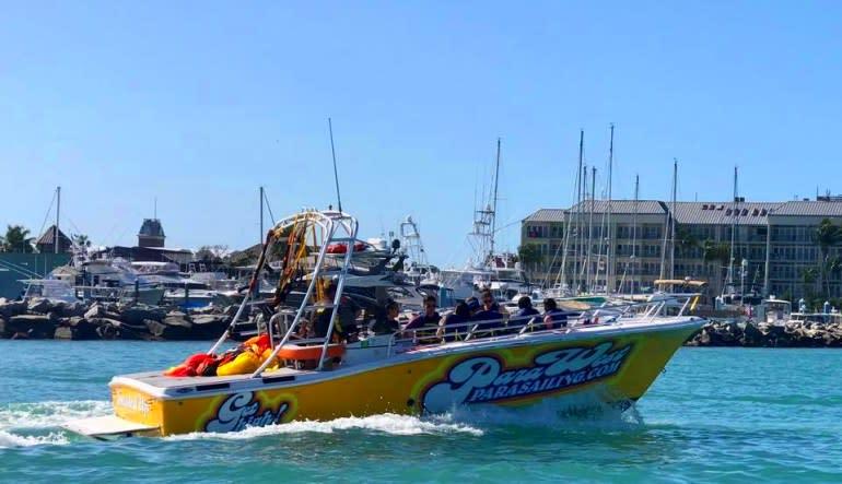 Parasailing Key West Boat