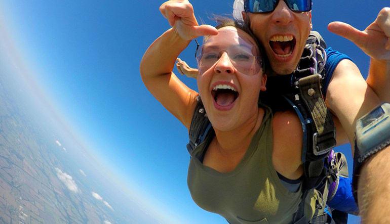 Skydiving Dallas Scream