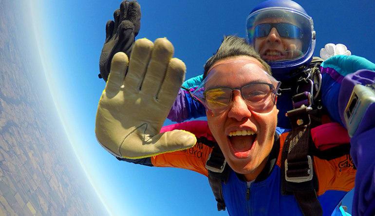 Skydiving Dallas Hi Five