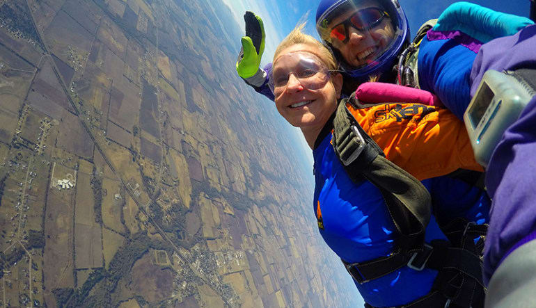 Skydiving Dallas Landscape Views