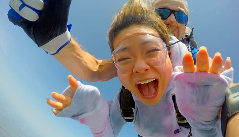 Skydiving Dallas Screamer