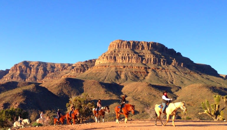 Horseback Riding Grand Canyon Western Ranch
