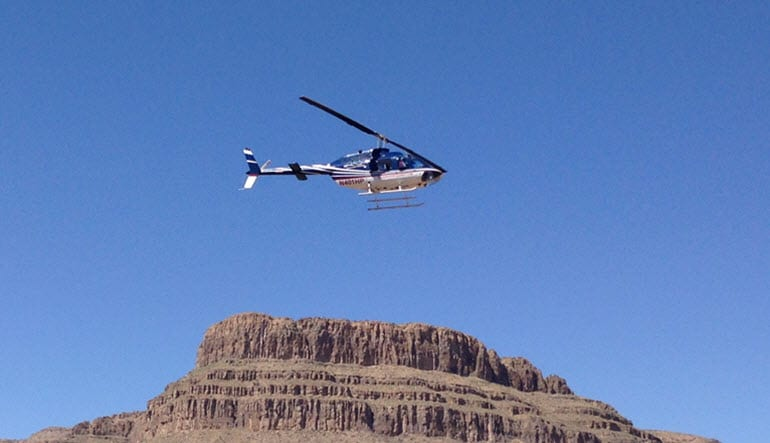 Helicopter Tour Grand Canyon West with Wagon Ride