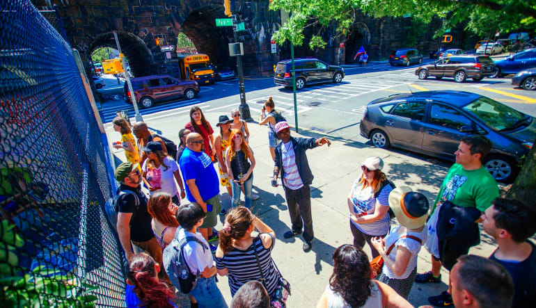 New York City Walking Tour, Harlem and Hip Hop History Stop