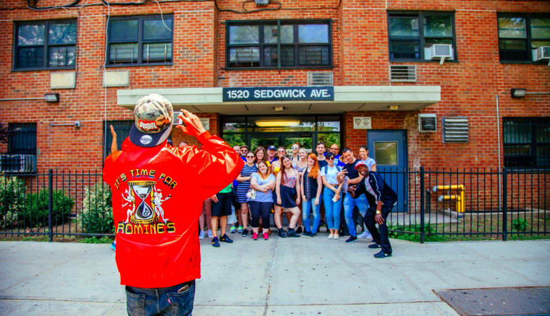 Bus Tour New York City, Brooklyn and Hip Hop History