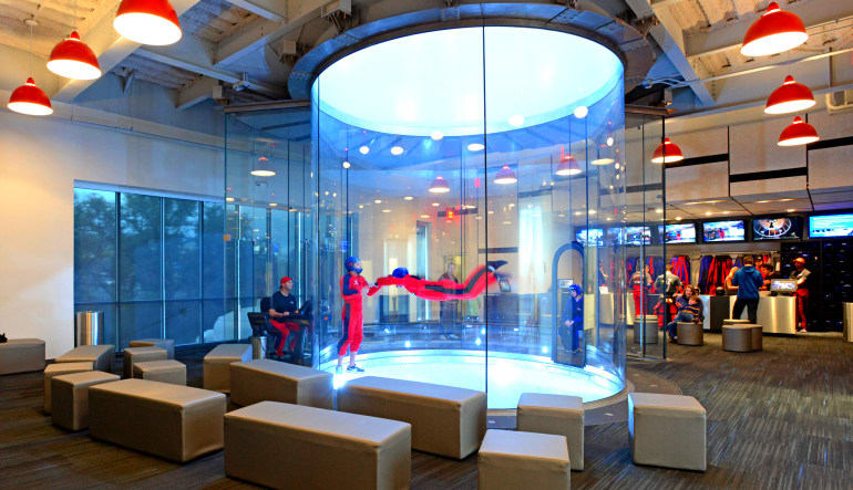 Indoor Skydiving Baltimore  Tunnel