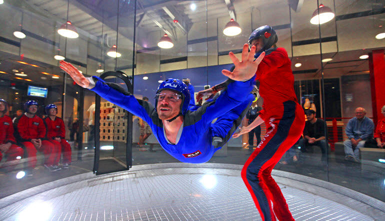 Indoor Skydiving Dallas Ifly Frisco