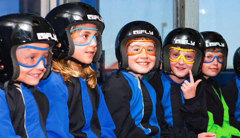 Indoor Skydiving Chicago Kids Party
