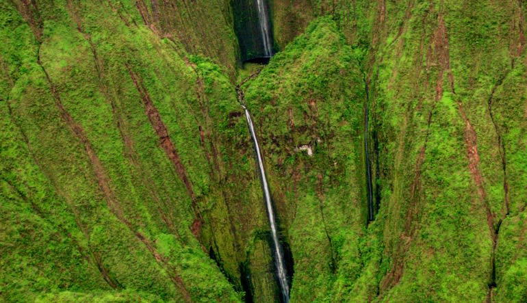 Helicopter Tour Maui Complete Island - 65 Minute Flight Waterfall